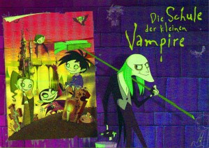 Grace Jolliffe. Image from a kids vampire show.